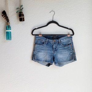 Lucky Brand | Embroidered Malibu Shorts